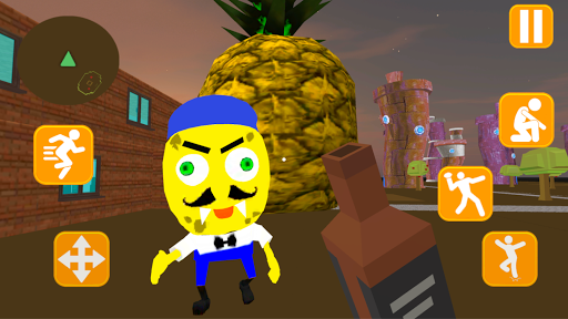 Neighbor Sponge. Scary Secret 3D 1.4 screenshots 1