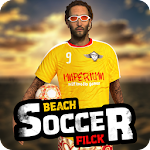 Beach Soccer Flick Icon