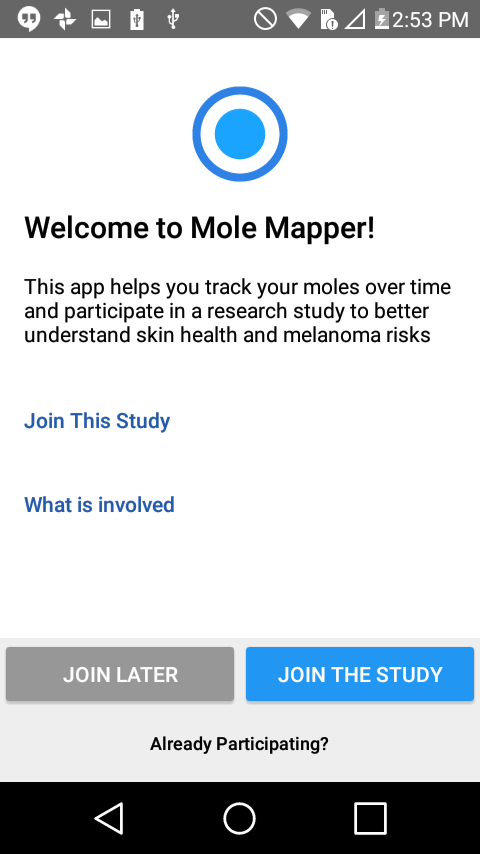 Mole Mapper- screenshot