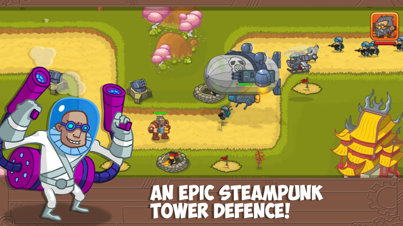 Steampunk Defense Premium v2.0.0.2 (Mod Money)
