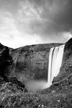 Photo: One last waterfall. Iceland 2010.