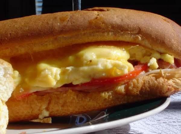 Baked Egg Supreme Sandwich