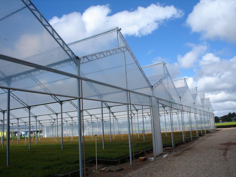 Estufas agrícolas - arco dente de serra