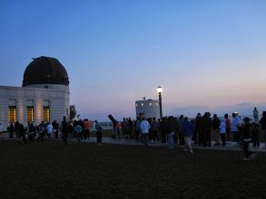Photo: Twilight at Griffith Observatory