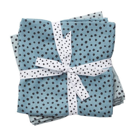 Done By Deer Spytrasa, Happy Dots, Blue 2-pack