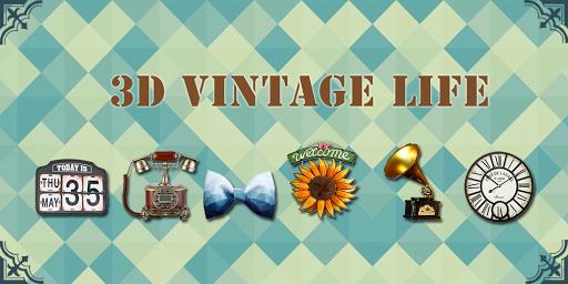 3D Vintage Life Theme