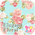Cute Theme-Elegant Floral- icon