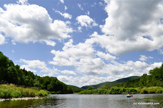 Photo: Kayaking in Waterbury Resevoir at Little River State Park