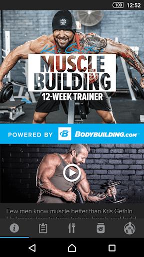 Kris Gethin Muscle Building  screenshots 1