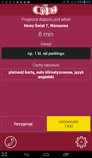 City Taxi Warszawa 22 8488888- screenshot thumbnail
