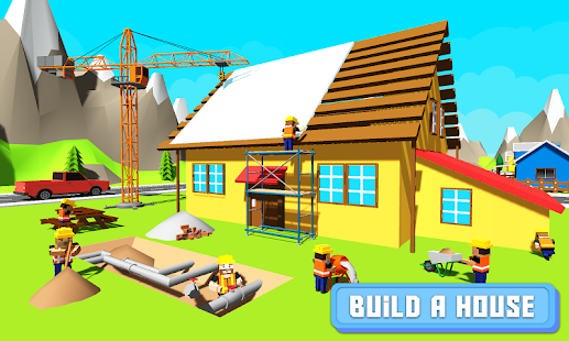 Architect Craft Building: Explore Construction Sim Screenshot