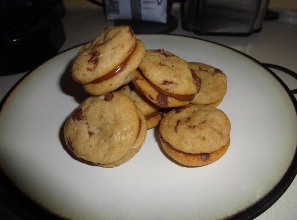 Chocolate Chip & Nutella Cookie Sandwiches Recipe