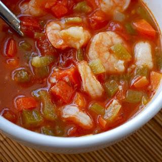 Slow Cooker Shrimp and Vegetable Chowder