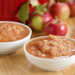Crockpot Applesauce.