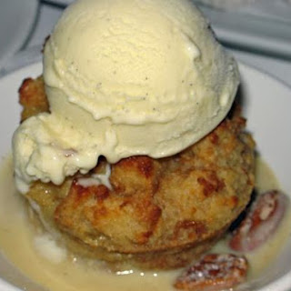 Pineapple Bread Pudding With Rum Sauce