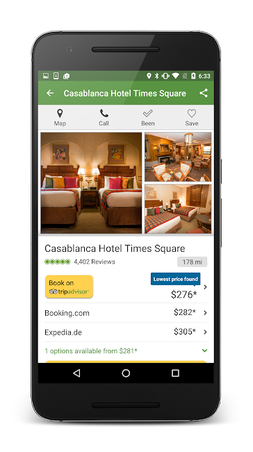 #3. TripAdvisor Hotels Restaurants (Android)