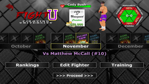Weekend Warriors MMA 1.177 screenshots 5