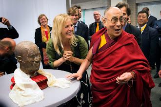 Photo: Dalai Lama visiting The Netherlands - Photo: Jurjen Donkers