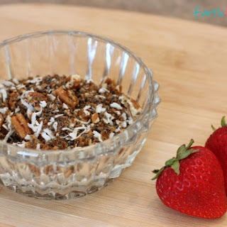 Low Carb Keto Cereal.