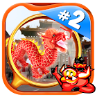 # 2 Hidden Object Game Free - Chinatown Chronicles icon