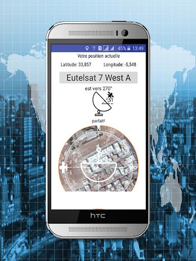 Satellite Finder - Satellite Locator 1.0 screenshots 2