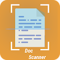 Clear Document pdf Scanner: Smart QR & Text Reader icon