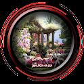 Flower Garden Gazebo Design icon