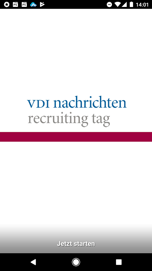 VDI nachrichten Recruiting Tag- screenshot
