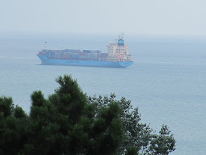 Photo: Day 91 - View of the Black Sea from our Room