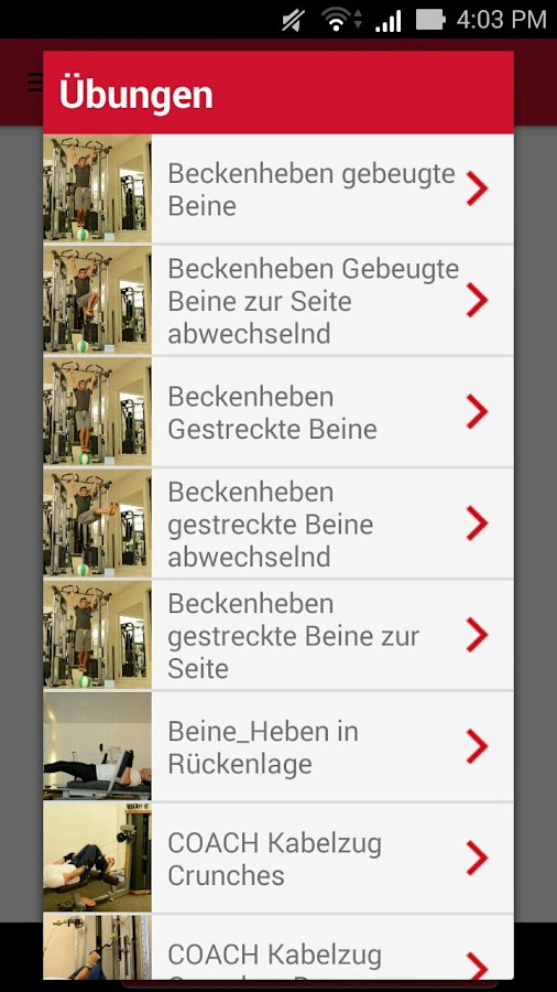 Fit auf Reisen- screenshot