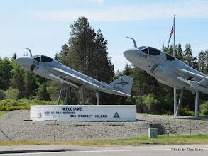 Photo: (Year 2) Day 336 - Planes at Oak Harbor US Navy Air Base