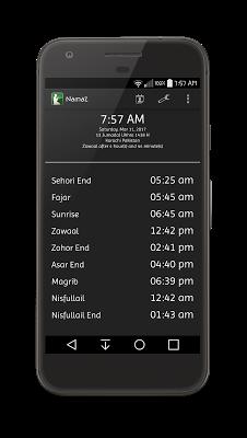 Namaz Awqaat with Miqaat - screenshot