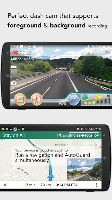 #1. AutoGuard Dash Cam - Blackbox (Android)