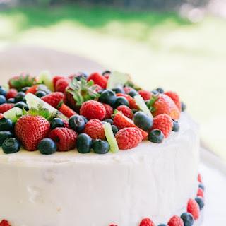 Kiwi Berry Cake.