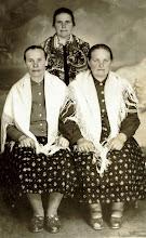 Photo: Genowefa Hajnos , ,Bienias Aniela, Marianna Hajnos - lata 50-te.