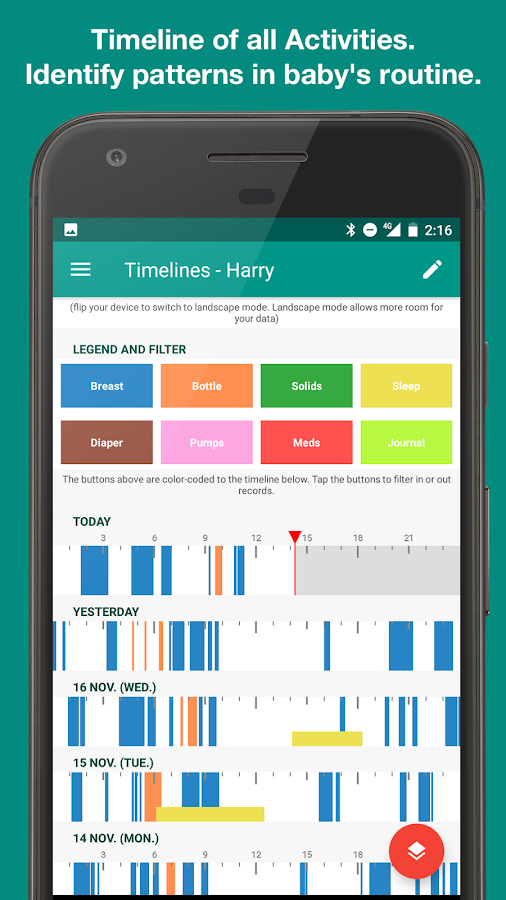 Feed Baby - Baby Tracker- screenshot