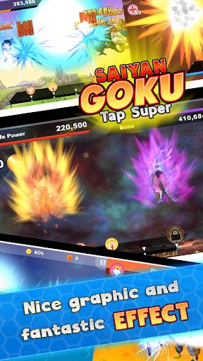 Saiyan Goku Tap Super Z  screenshots 1