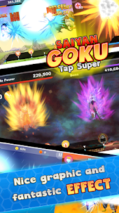Saiyan Goku Tap Super Z- screenshot thumbnail