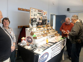 Photo: 010 Good to see Christine and Chris Ward with their very popular CWR 3D printed kits in both 4 and 7mm scales. This was the last show under their ownership as the business has now been sold on, but I understand will continue to trade under the same name, for the moment at least .