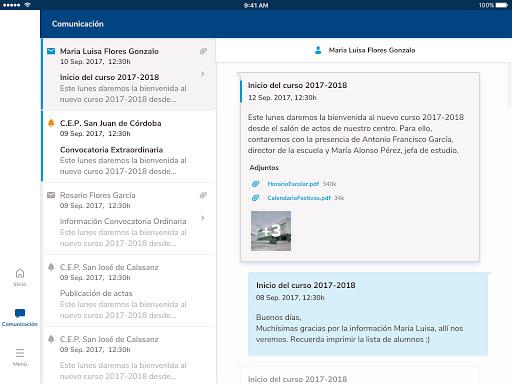 Versión de Séneca para smartphone y tabletas. screenshot 22