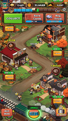 Idle Frontier: Tap Town Tycoon screenshots 6