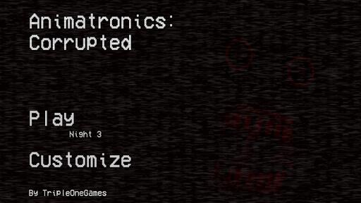 Animatronics: Corrupted (Custom Night) 1.11 screenshots 1