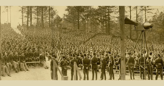 1942 Photo of 10th Armored Division at Fort Benning, GA