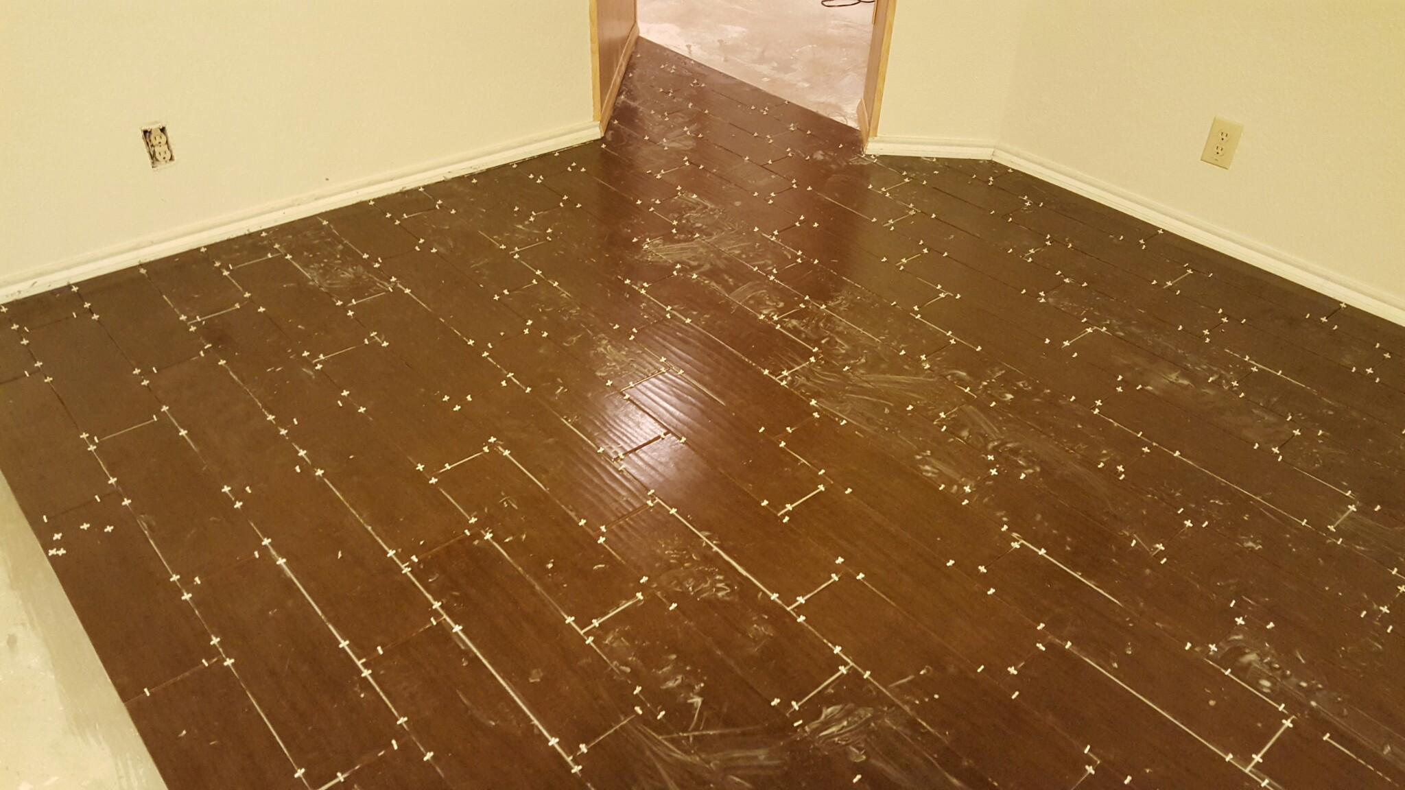 Wood Plank Porcelain Tile Flooring