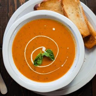 Cream of Tomato Soup.