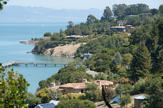 Photo: Mediterranean-like views and climate on Paradise Dr around the Tiburon peninsula