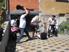 Photo: 04.06.10: Flashback nach jahrelangem Mißbrauch von diversen Mitteln. Nachfolgende Szenen konnten nicht freigegeben werden. (Urheberrecht W. Pfeuffer)