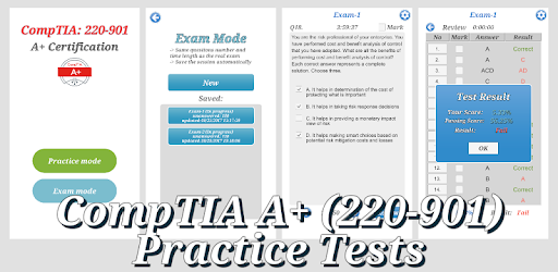 CompTIA A+ Certification (Exam:220-901) – Apps bei Google Play