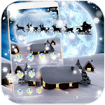 Silent Night Snow Christmas 2017 Theme Icon