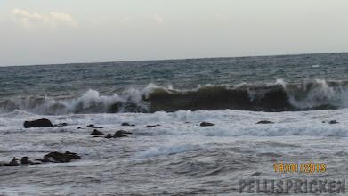 Photo: Ett riktigt upprört hav